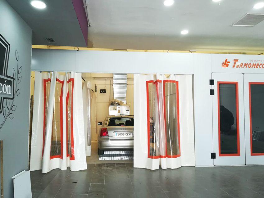 Instalación Cabina Pintura Taller
