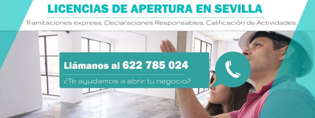 licencias de actividad Sevilla
